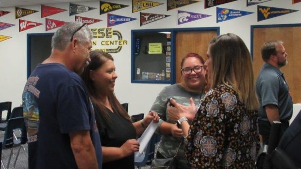 Reese Welcomes Students and Parents at Open House