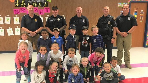 Oak Ridge Kindergartners Learn About Community Helpers