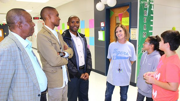 Legacy Elementary Hosts International Guests