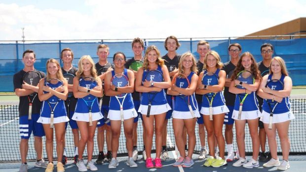 Tiger Team Tennis Remains Unbeaten in District Play