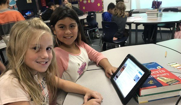 Westwind Fourth Graders Create Print Media
