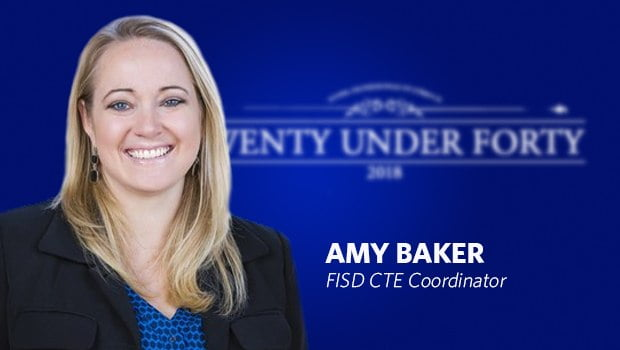 Amy Baker Named 2018 Twenty Under Forty Award Recipient