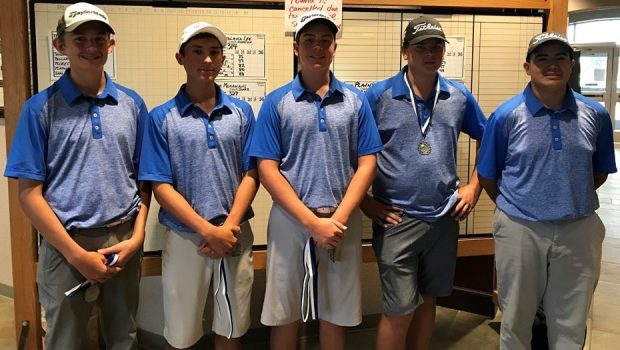 Golf Teams Bring Home Trophies from Weekend Tourneys