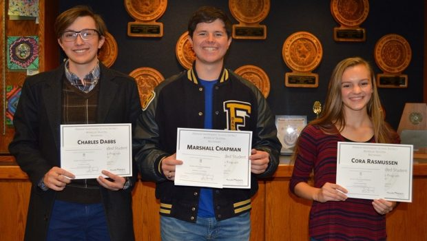 FHS Students Recognized by National Merit Scholarship Program