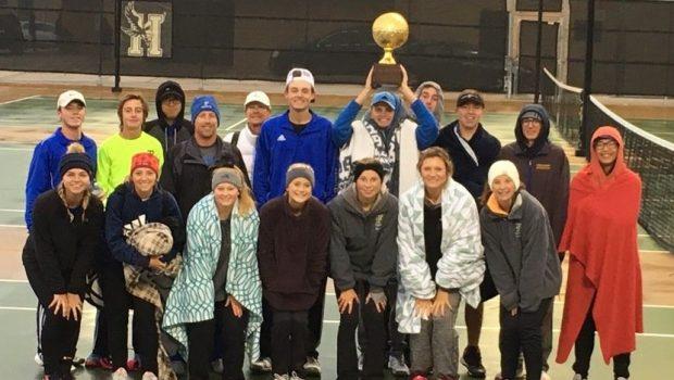 Tiger Tennis Wins Bi-District Championship