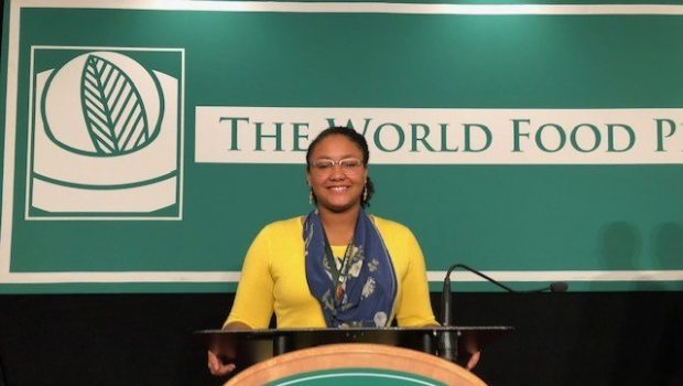 FHS Sophomore Represents Texas at the World Food Prize