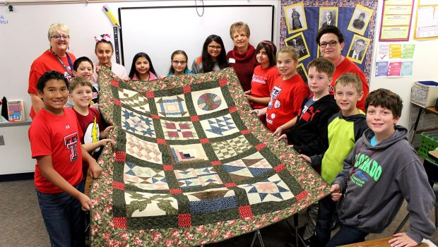 Willow Bend Students Learn How a Quilt Can Tell a Story