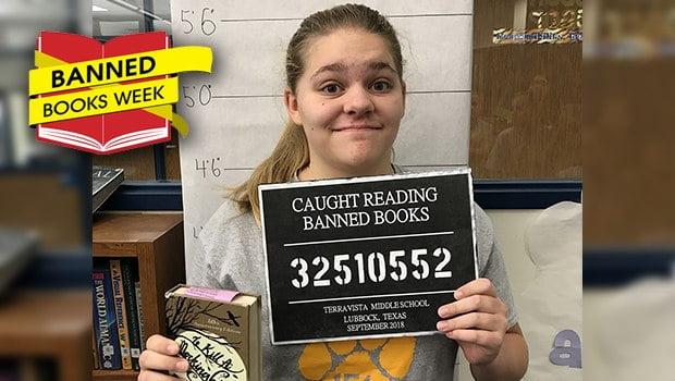 Terra Vista Middle School Participates in Banned Books Week