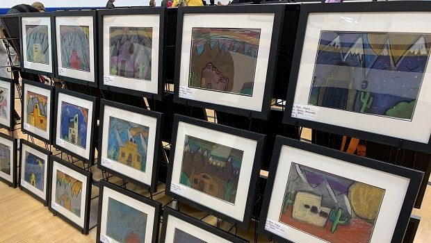 Upland Heights Art Department Fundraising Gets Creative