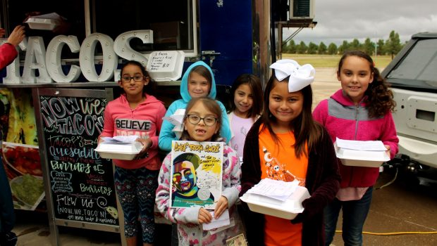 Food Truck Visits Willow Bend to Complete Study