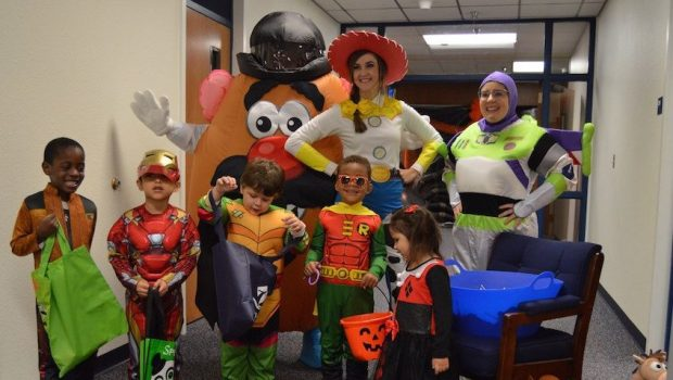 Students Make Halloween Spectacular at Casey Administration