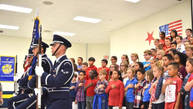 Frenship ISD Schools Honor Veterans