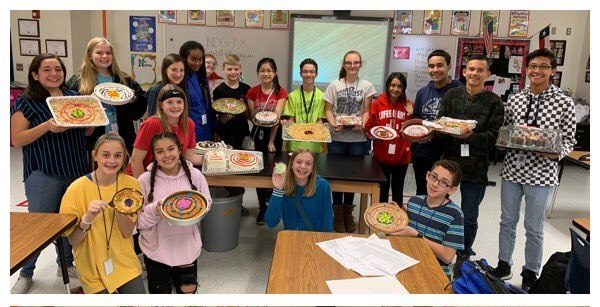 Heritage Middle School Makes Science Sweet
