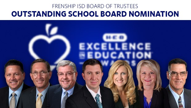 FISD School Board Nominated for Excellence in Education Award