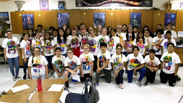 Heritage Middle School Mixes Art with Science