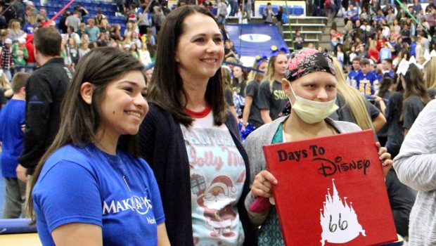FHS Student Feels Support from Thousands as Wish is Granted