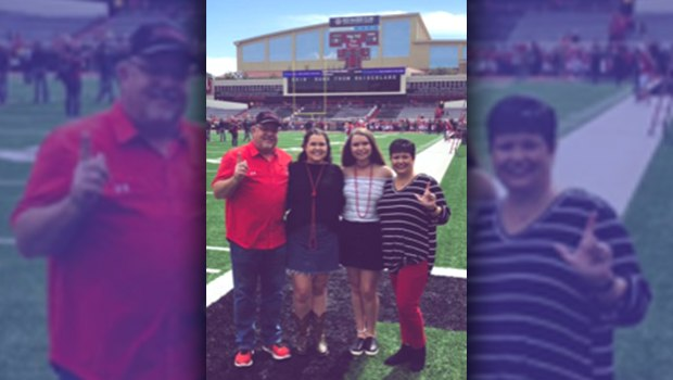 FRENSHIP IN THE COMMUNITY: North Ridge Teacher Honored at Tech Game