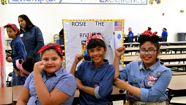 Willow Bend 5th Graders Bring History to Life