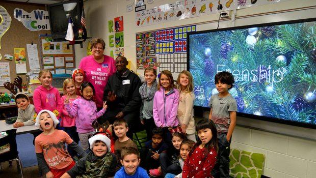 Crestview Elementary Hosts Distinguished Guest