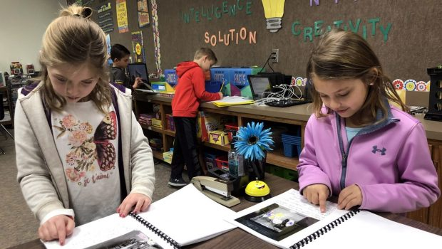 Crestview Students Write and Present Original Books
