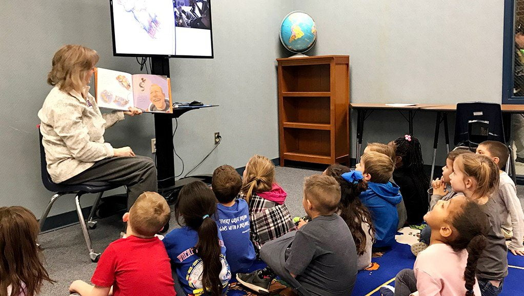 Westwind Students Engage in Story Time with Astronauts | My