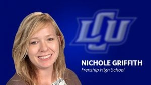 fhs nichole griffith selected as distinguished educator