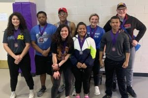 frenship powerlifting team brought home 8 medals from dimmitt competition
