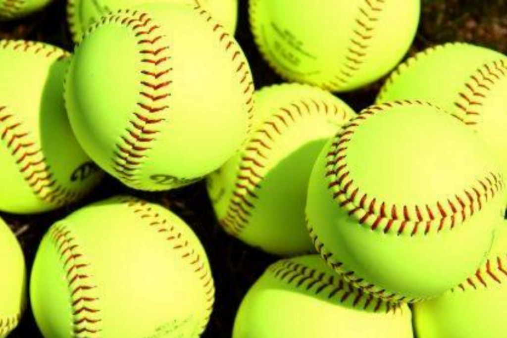 stock softball photo