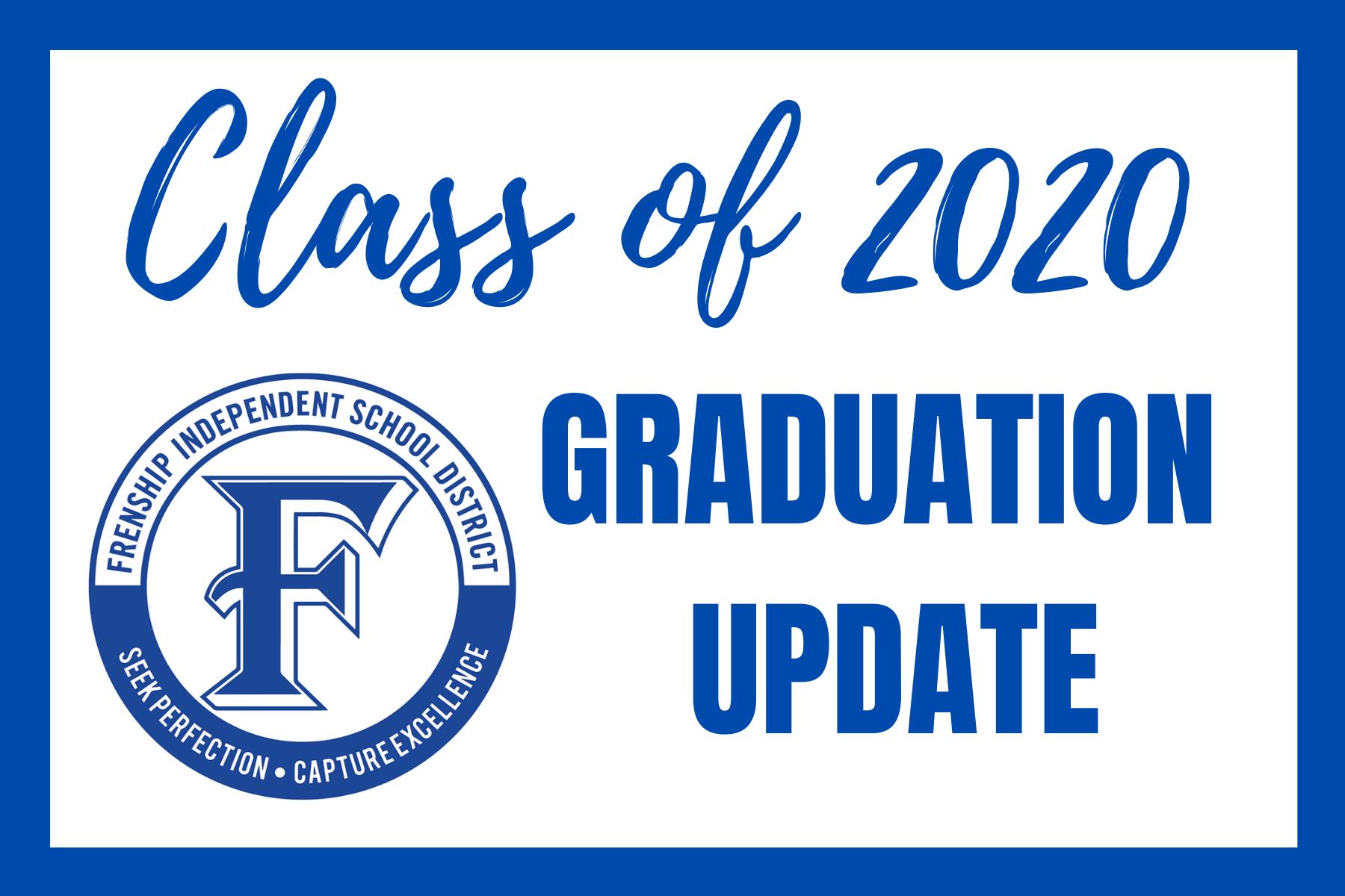 class of 2020 graduation update